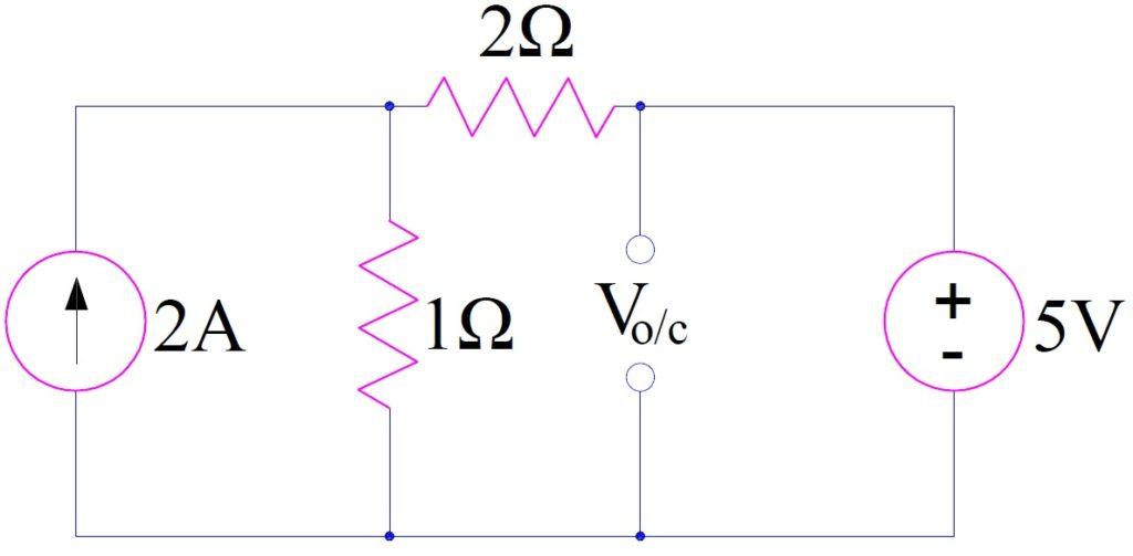 Thevenin's Theorem-numerical-2