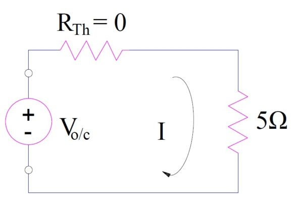 Thevenins Theorem-numerical