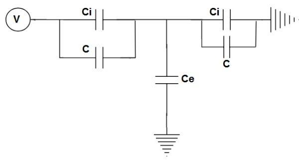 Grading Capacitor-voltage distribution-Equivalent-circuit