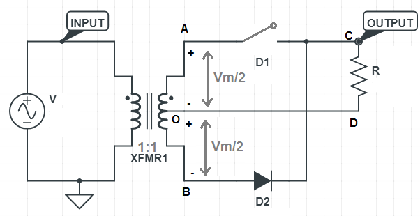 peak-inverse-voltage-Centre-tapped-full-wave-rectifier