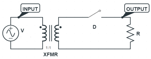 peak-inverse-voltage-Half-Wave-Rectifier