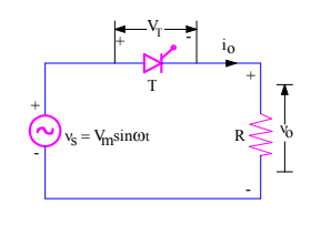 firing angle definition with circuit diagram