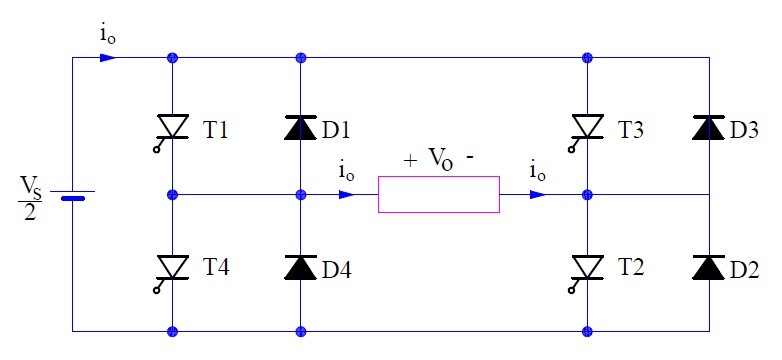 Single Phase Full Bridge Inverter Explained | Electrical ...