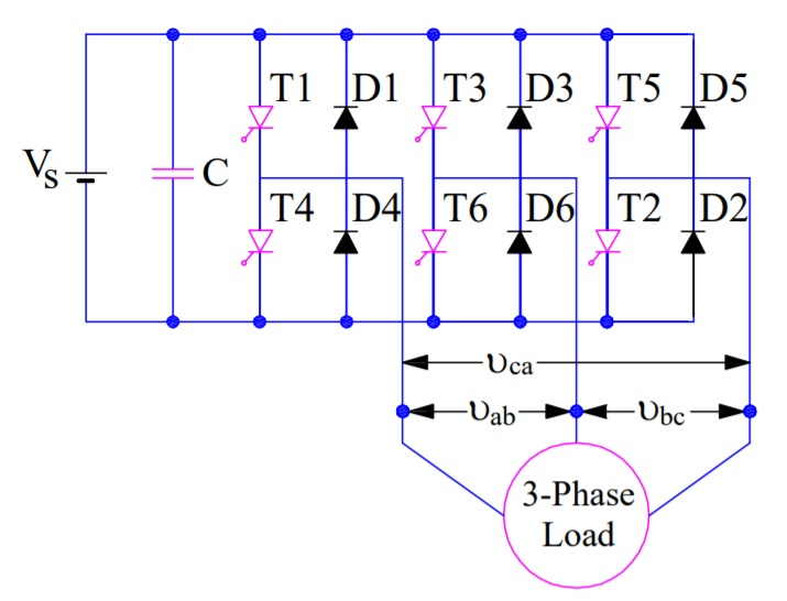 three phase bridge inverter explained  electrical concepts